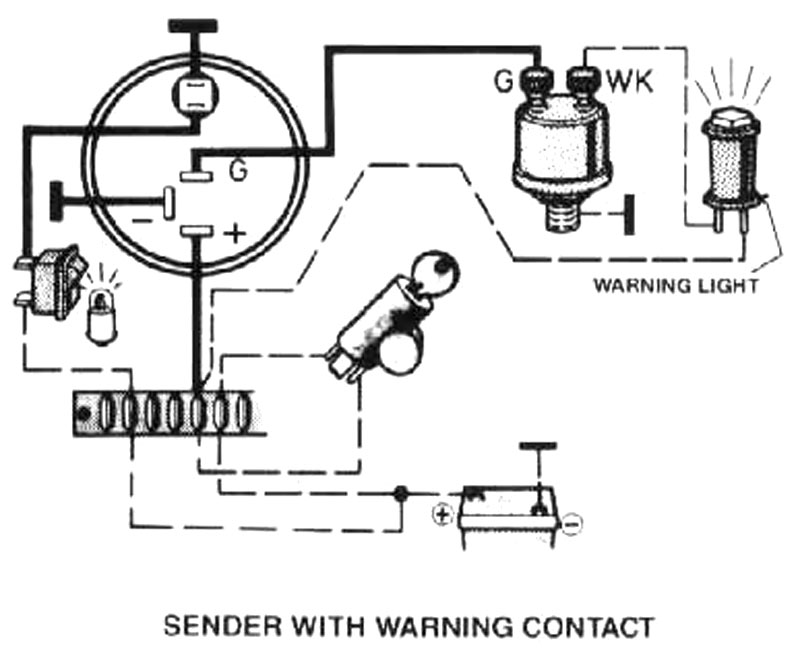oil gauge wiring diagram